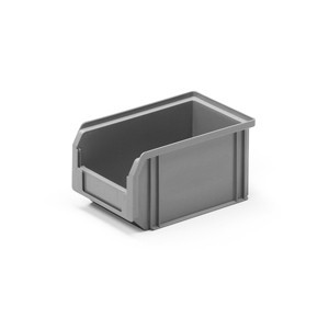 Front opening bin for C-parts