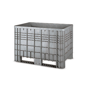 Containers with skids