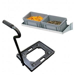 Accessori per Carrelli con contenitori in Plastica | iMilani