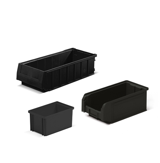 ESD containers for C-PARTS
